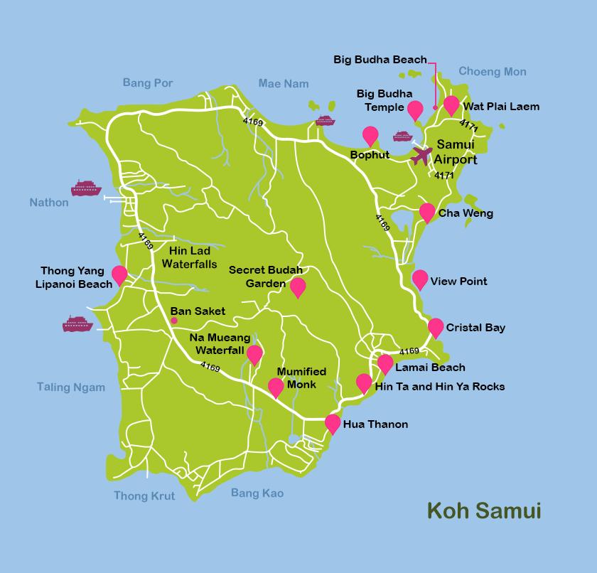 Mapa_14. Koh Samui