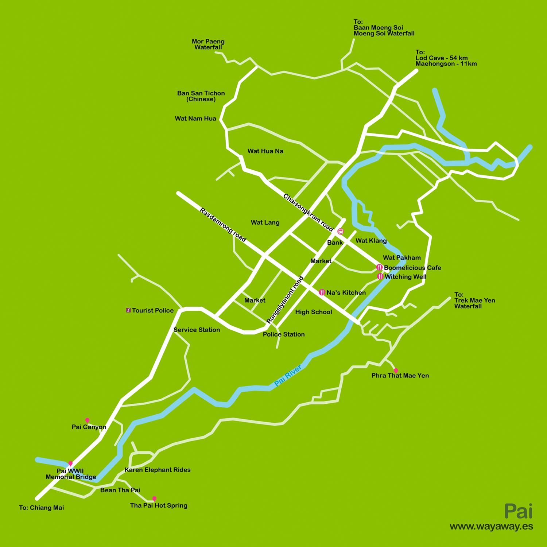 Mapa_Tailandia_8. Pai
